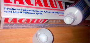 Lakalut toothpastes and reviews of their use
