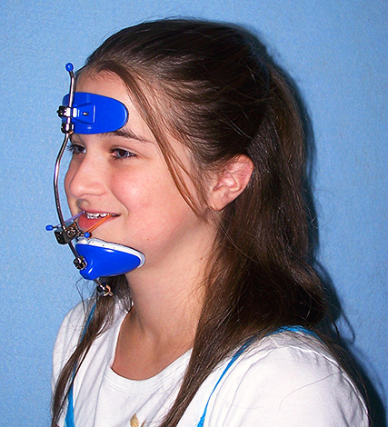 Facial orthodontic mask